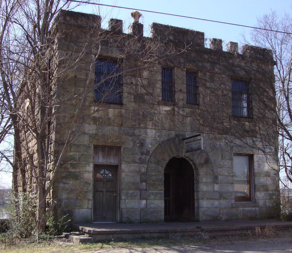 Old Franklin County Jail (Ozark, Arkansas) | Listed on the N