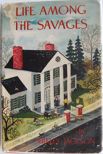 Book design by Maxwell Mays depicting of one of Shirley Jackson's homes in North Bennington, Vermont | by Crossett Library Bennington College