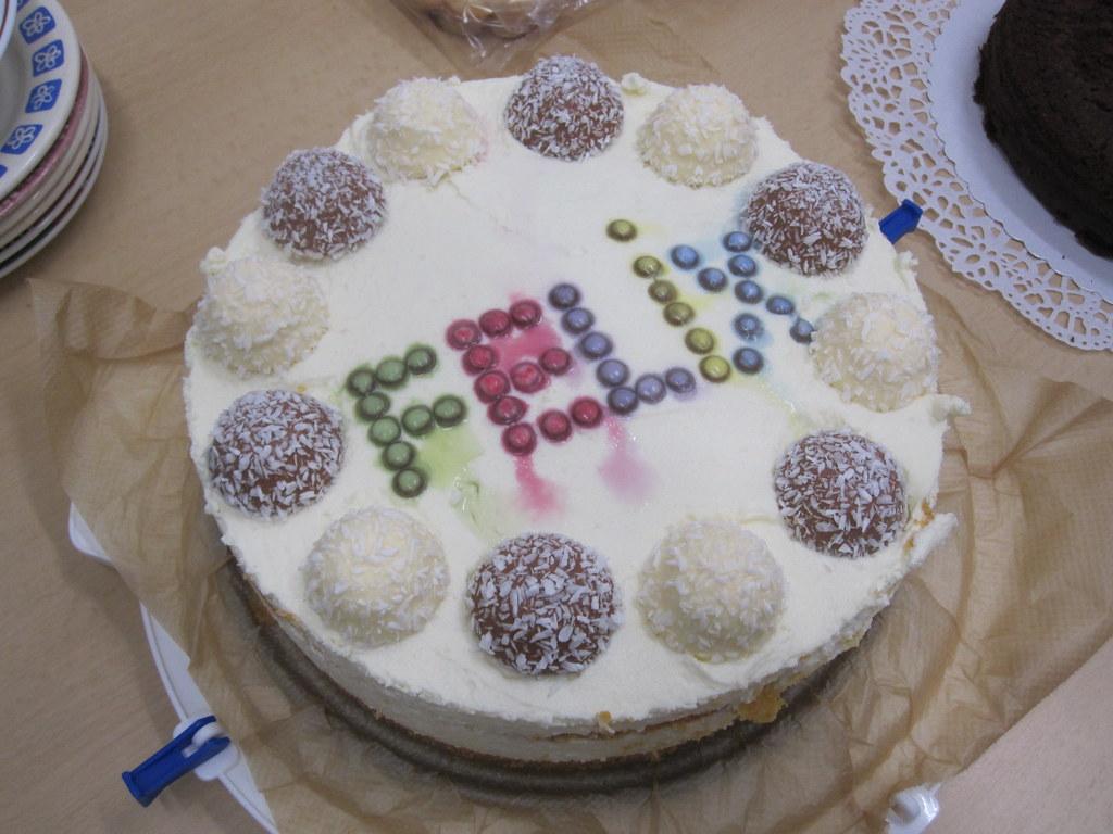 Fabulous Birthday Cake Fail Oh No The Dreaded Smartie On Sligthly Flickr Personalised Birthday Cards Veneteletsinfo
