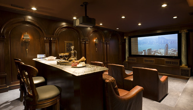 Luxury Home Theater Luxury Entertainment Room Home