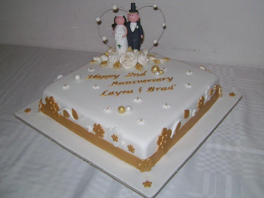 2nd Anniversary Cake Shevi Aaron Perera Flickr