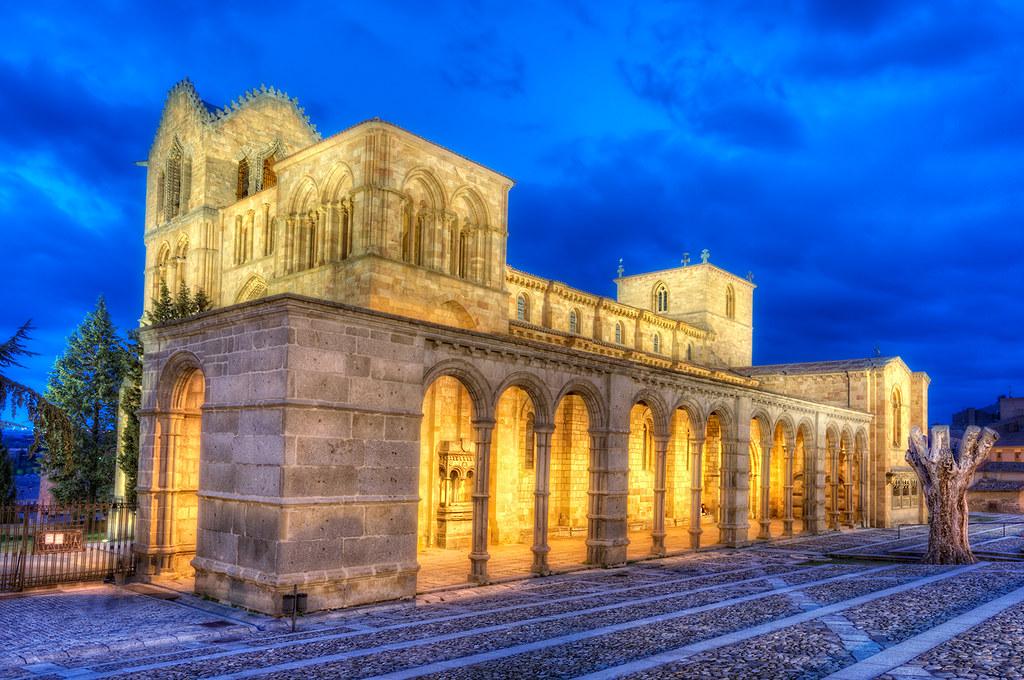 All Sizes St Vincent S Basilica Basílica De San Vicente ávila Hdr Flickr Photo Sharing