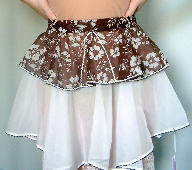 brown apron