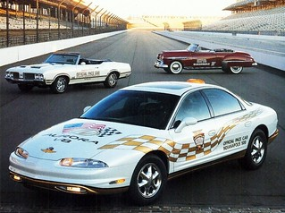 1997 Oldsmobile Aurora Indy 500 Pace Car + 1949 & 1970 Pace Cars
