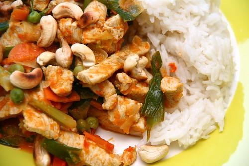 Asian: Turkey, Vegetables & Rice | by Katrin Gilger