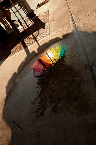ranbow puddle | by p.lu