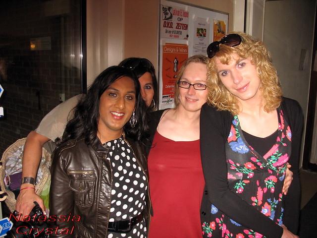Good party tonight, girls! :)