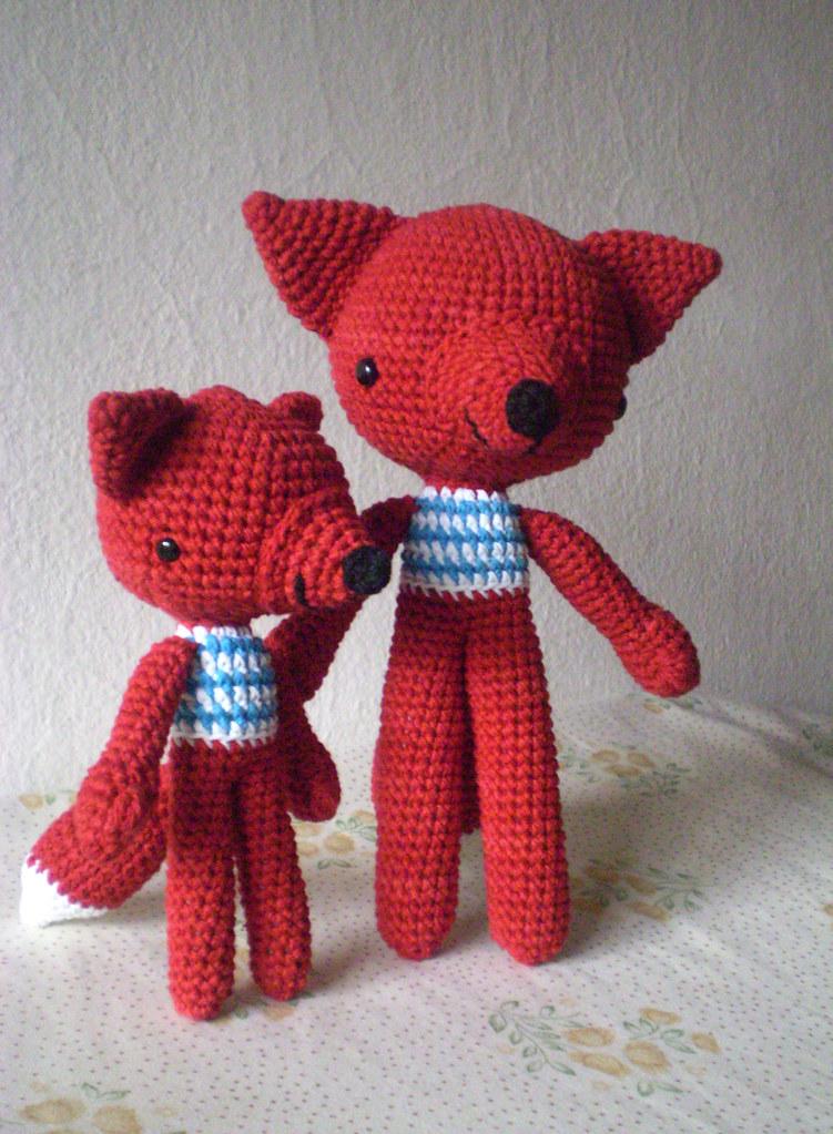 Amigurumi | como hacer un zorro en crochet |Bibi Crochet - YouTube | 1023x751