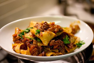 Rabbit ragu with parpadelle | by Abstract Gourmet
