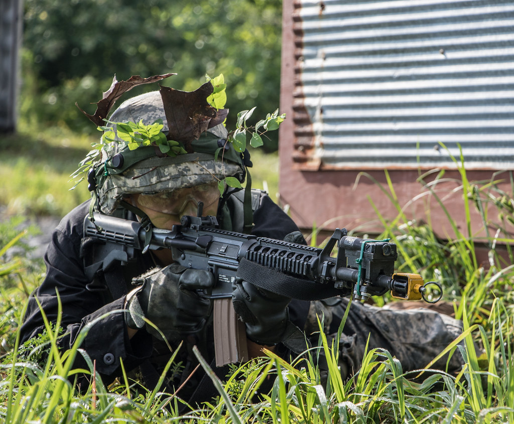 Cadets from 5th Regiment Participate in their Field Training