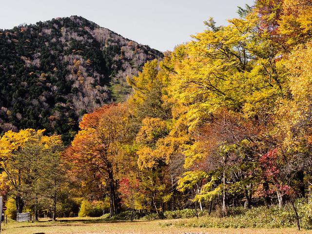Autumn in Nikko Yumoto, Japan