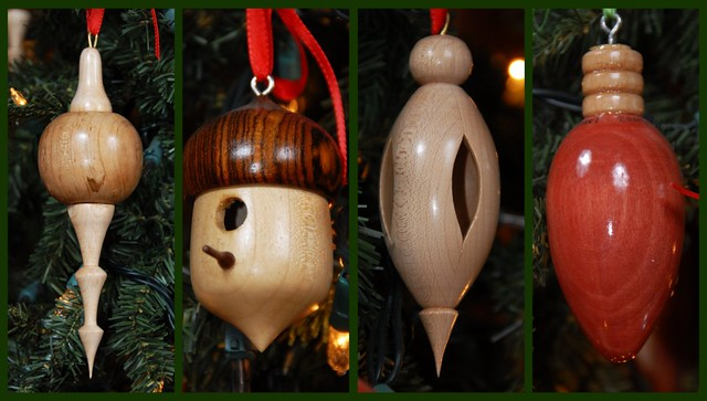 Some Of Ornaments I Have Turned In My Shop On The Wood Lat Flickr