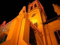 Under the church