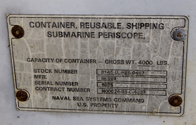 Periscope Shipping Container Label | So what do you send a n… | Flickr