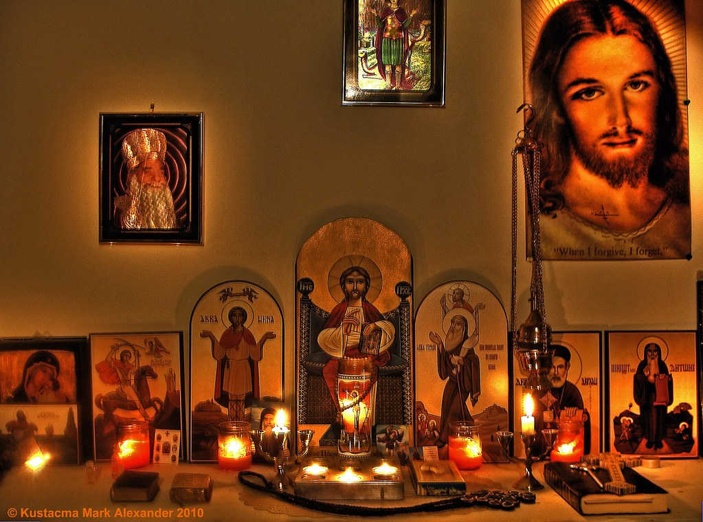 Orthodox Prayer Corner | This is my own personal prayer corn… | Flickr