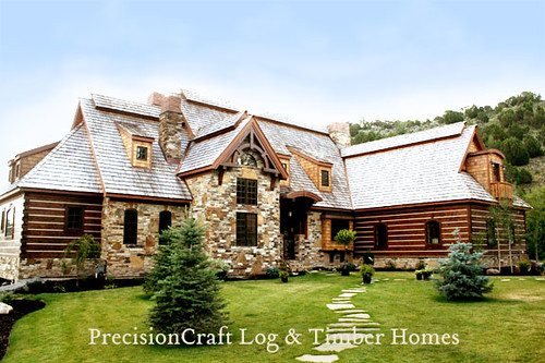 Amazing Flickriver Precisioncraft Log Timber Homess Photos Download Free Architecture Designs Ferenbritishbridgeorg