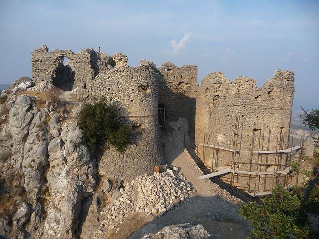Castello Normanno lavori in corso