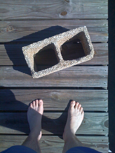 cameraphone camera eye feet apple shoe dock shoes phone looking view floor legs florida bare perspective disposal ground down surface 3g barefoot block fl cinderblock bodies phones cinder iview iphone fromaphoneseyeview