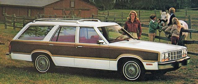 1981 Ford Fairmont Squire