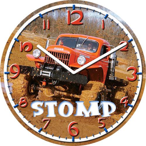 Dodge Power Wagon Clock | by customclockface