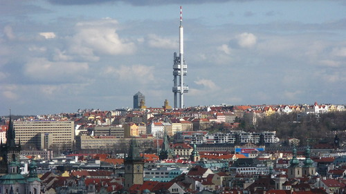 Prague Television Tower - Zizkov Tower | by Tilemahos Efthimiadis