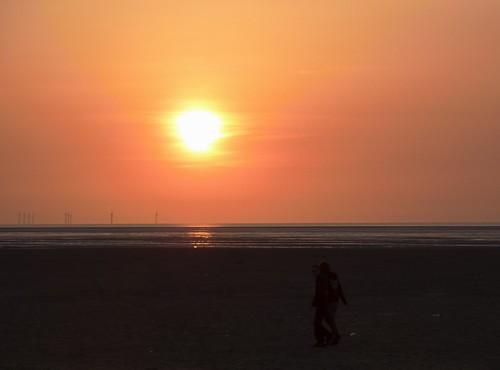Sunset On Beach 1 (17/04/2010)