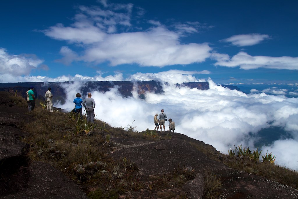 Time to Relax in Mt. Roraima
