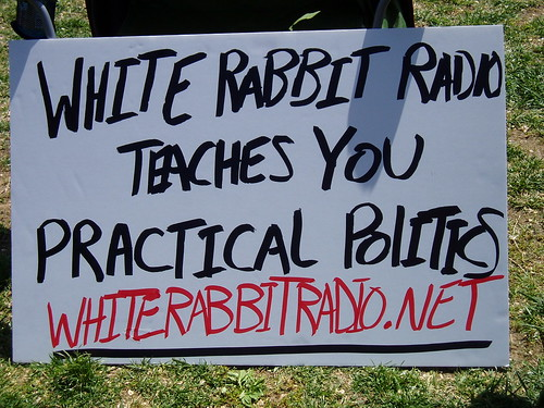 WRR Racist sign