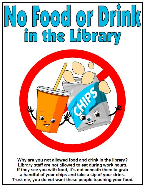 library food drink sign signage signs flickr printable lab eat sharing poster inspiration eating stuff job funny messy smelly noisy
