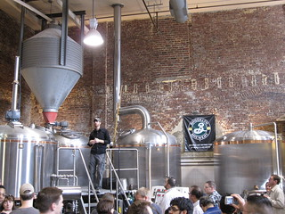 Brooklyn Brewery tour   by Bernt Rostad