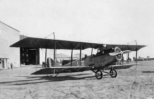 Army Curtiss JN-6H North Island circa 1919-1920