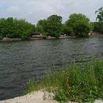 Spree-Ufer mit Strandbars
