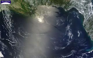 Deepwater Horizon Oil Spill – MODIS/Terra Detail, May 24, 2010
