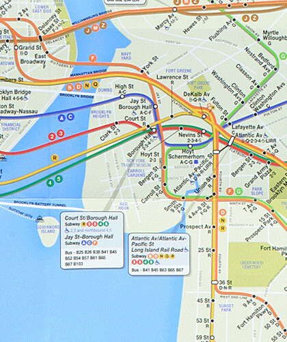 Brooklyn Subway Map.Brooklyn 2010 The New Mta Subway Map And Yes Dumbo Is On Flickr