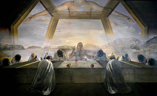 The Sacrament of the Last Supper, 1955 | by leoncillo sabino