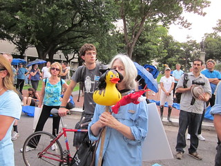 BP Dead Pelicans Lafayette Square Oily Ducky