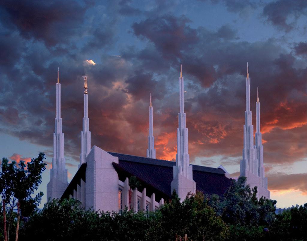 Las Vegas Nv Temple At Sunset Michael Mm Flickr