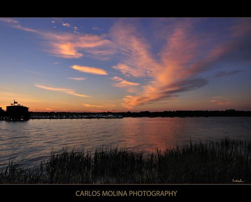 sunrise longisland baysidemarina crossislandpkwy darylbenson nikond300 carlosmolina 1424mmf28 reversegraduatedndfilter carlosmolinaphoto
