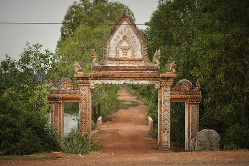 Cambodian Archway | by goingslowly