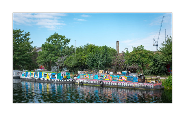 Boat Art (Sweet Toof & Paul Insect), East London, England.