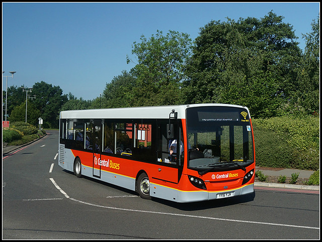 Central Buses YY16 YJK