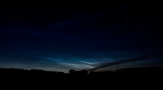 Evening Noctilucent Cloud (2) 03/07/17