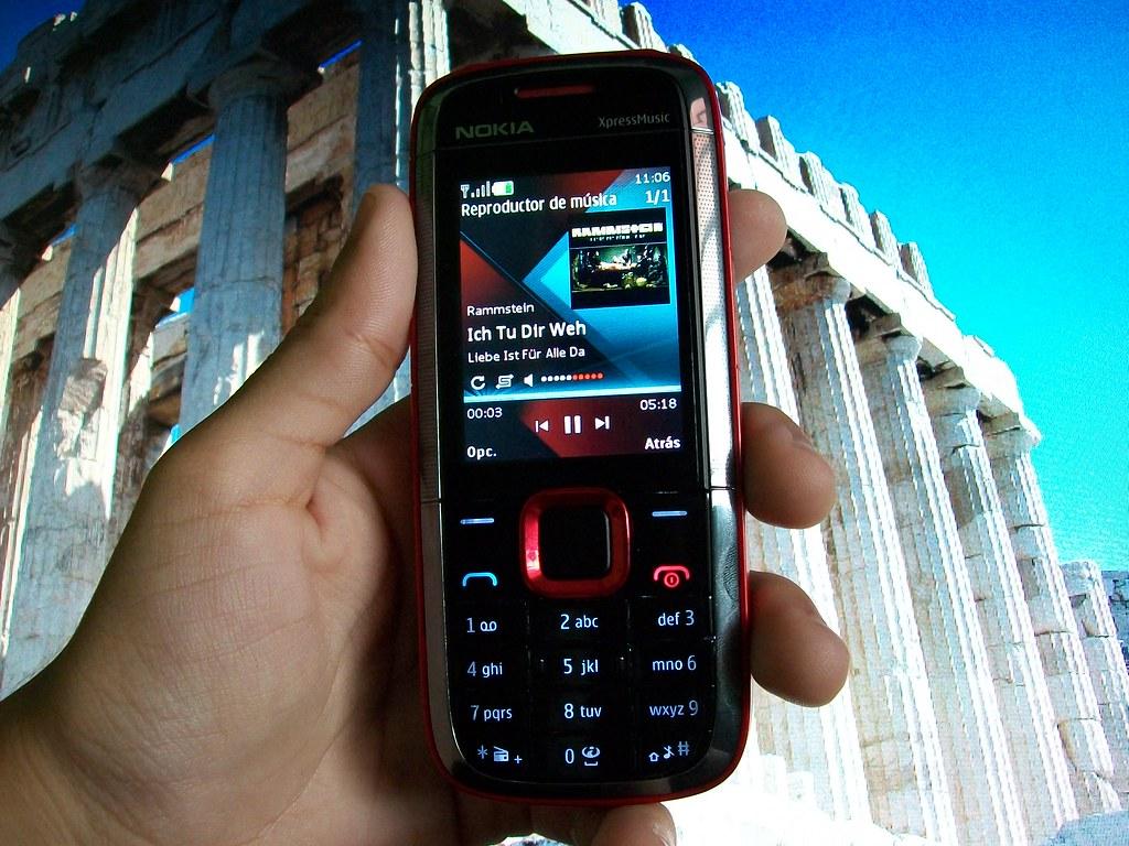Nokia 5130 Music Player | My Nokia 5130 plays some Rammstein