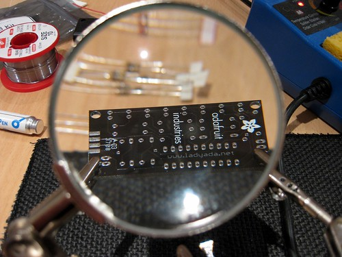 Magnifying the Circuit Board | by Andrew Mason