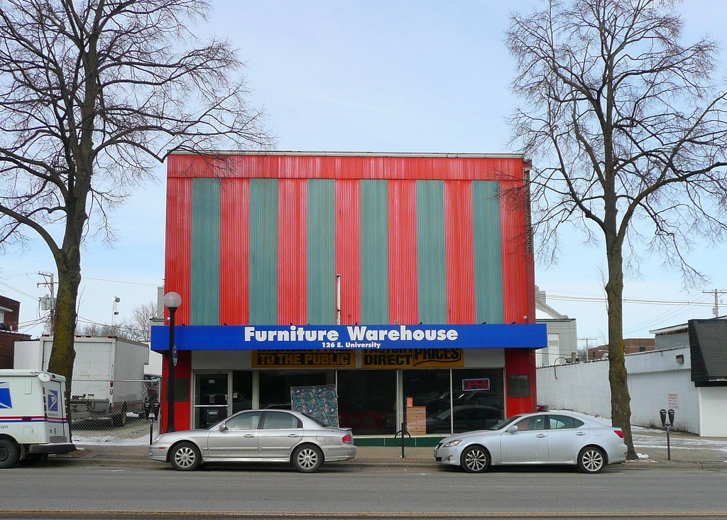 Champaign, IL Furniture Warehouse | At One Point This Used T ...