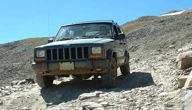 STOCK CHEROKEE ON MOSQUITO PASS