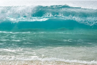 Clear blue wave | by Vironevaeh