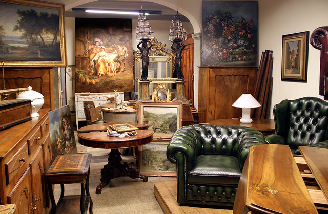 Antiques shop, Florence