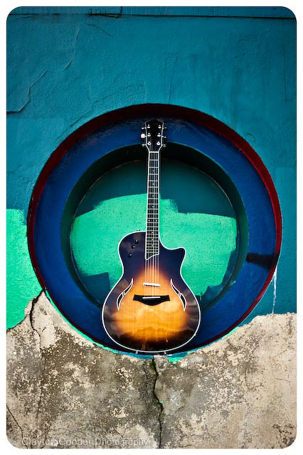 Pennan Brae's Taylor Guitar