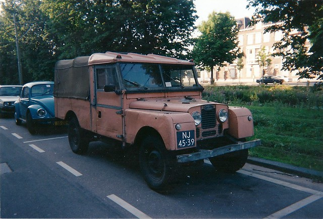 Land Rover 107 Pick-up 1954